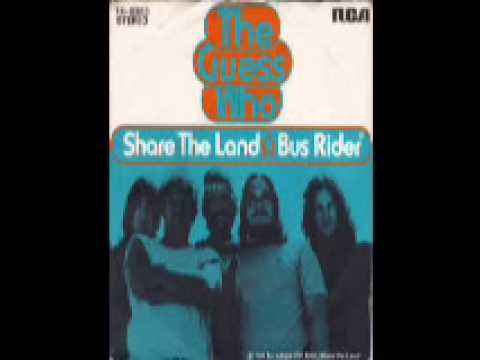 Bus Rider -  The Guess Who