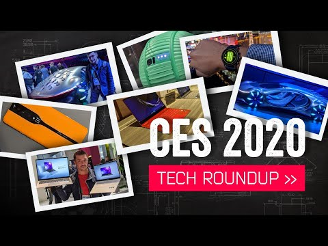 The Best Tech From CES 2020