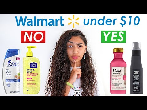 The Best Beauty Products At Walmart Under $10!