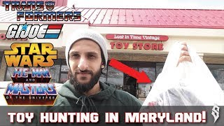 Today's toy hunt is at Lost in Time Vintage Toy Store in Fulton Mar...