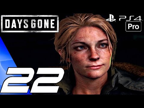 DAYS GONE - Gameplay Walkthrough Part 22 - Sarah's Lab & Zombie Infection Source (PS4 PRO)