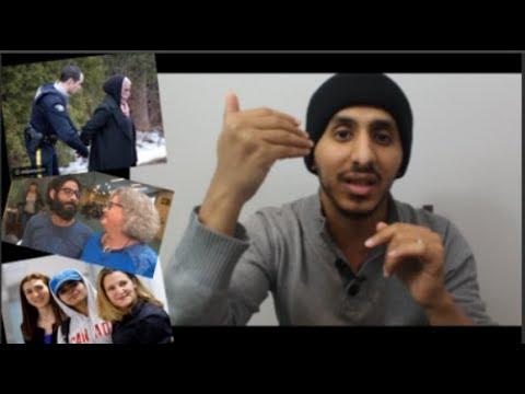 البنت السعودية #رهف_القنون واول مقابلة في كندا | اول تصريح | اول مرة تتناول الخنزير