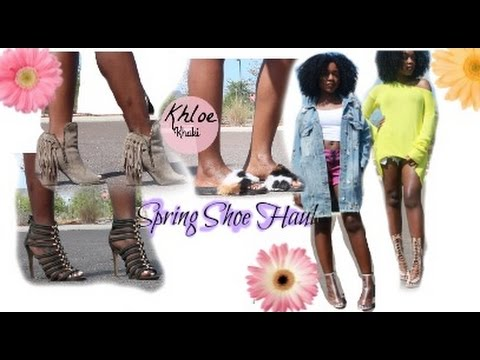 New Spring 2017 Shoe Trends ft  She is Shic | Shanese Danae