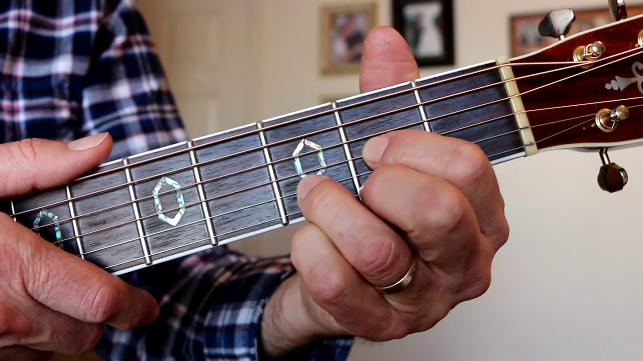 Dsus15 Open Position Guitar Chord