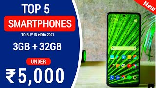 Top 5 best Smartphone Under 5000 in 2021| Best Phone Under 5000 in May 2021