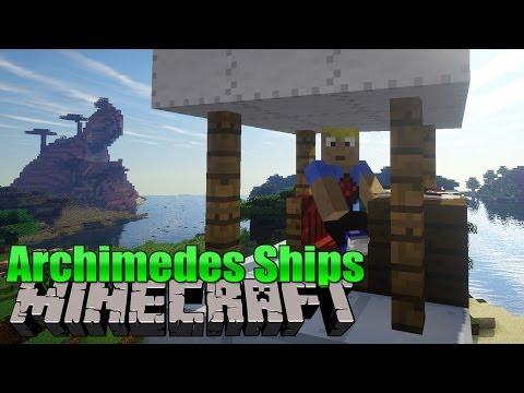 Archimedes Ships! - Minecraft MOD