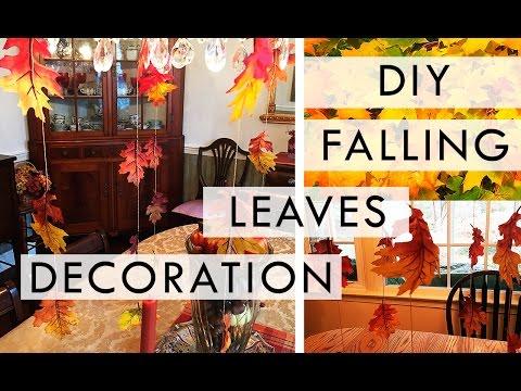 DIY: Falling Leaves Decoration