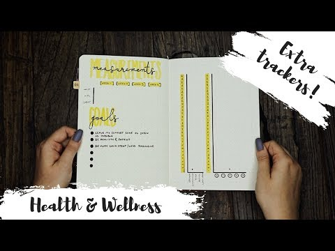Bullet Journaling For Health And Wellness | Fitness Tracker Ideas 2018