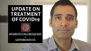 COVID 19 treatment. Do the drugs hydroxychloroquine and azithromycin work for coronarvirus?