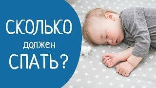 СКОЛЬКО должен спать ребенок? ( НОРМЫ СНА для детей )