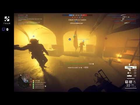 Battlefield1 Turning Tides DLC W/ FAKM (Part 16) |