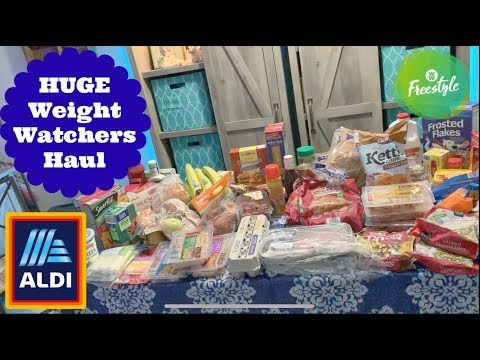 HUGE ALDI Weekly Grocery Haul | Losing Weight On A Budget