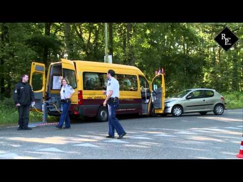 Ongeval met taxibus Duinweg Drunen
