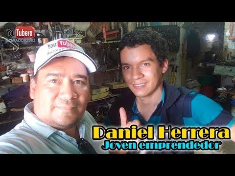 Daniel Herrera  y su nueva protesis |  Youtubero salvadoreño El Salvador