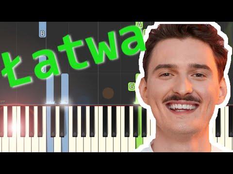 🎹 W dobrą stronę (Dawid Podsiadło) - Piano Tutorial (łatwa wersja) 🎹