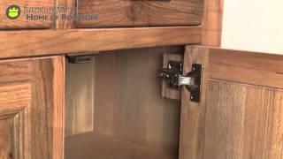 Chilton Oak 2 Drawer 2 Door Sideboard