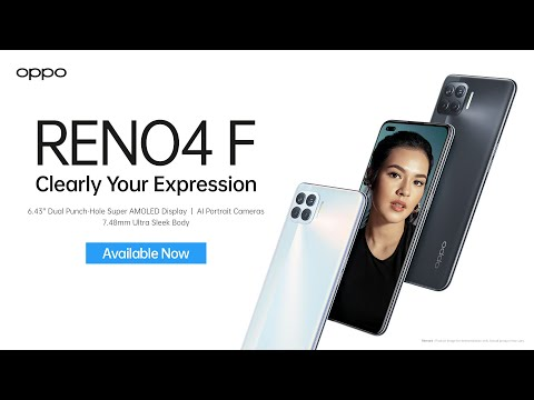 OPPO Reno4 F | Clearly Your Expression TVC (30s)
