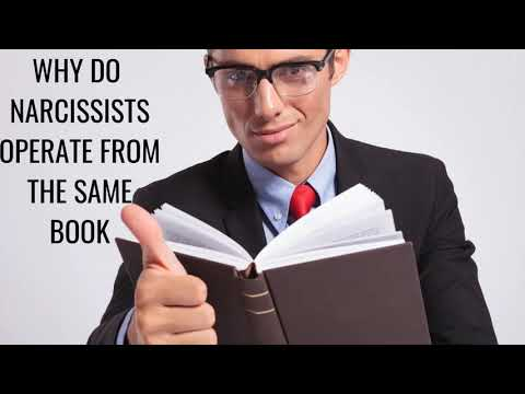 Why Do Narcissists Operate From The Same Book ?