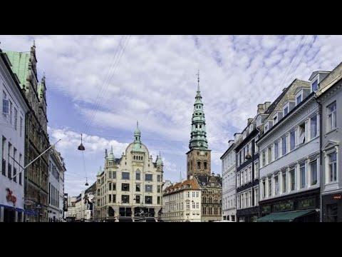 Strøget Copenhagen Denmark 360°VR