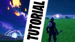 HOW TO MAKE THE ZERO POINT IN FORTNITE CREATIVE - TUTORIAL