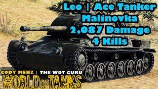 World of Tanks: Leo | Ace Tanker | Malinovka [Stream Clip]
