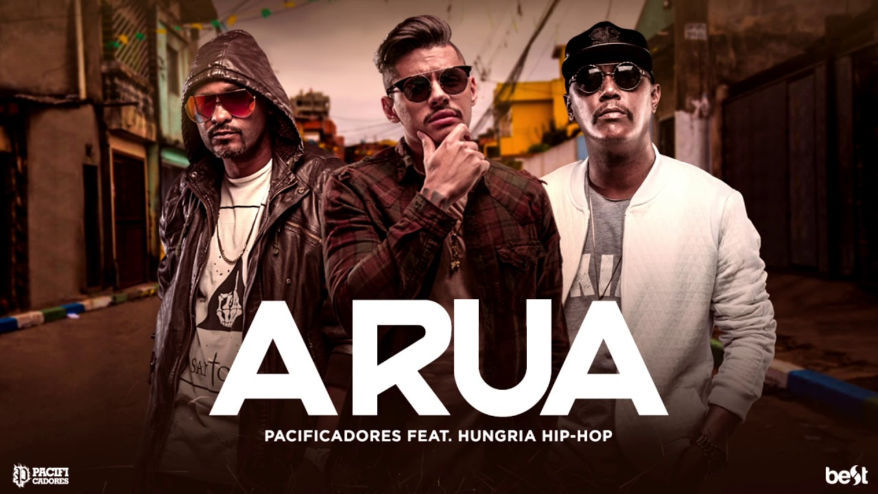 Pacificadores A Rua Part Hungria Hip Hop Official Music Youtube