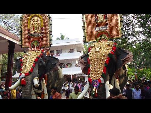 Thrikadavoor Sivaraju  - Pampady Rajan At Cheeram Kulangara  2015