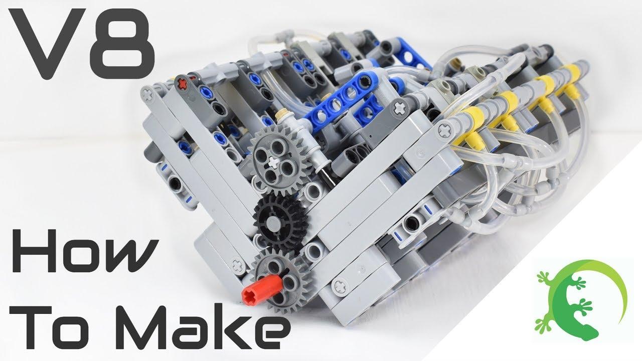 V8 engine parts list