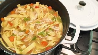 Download lagu HOMEMADE CHICKEN NOODLE SOUP