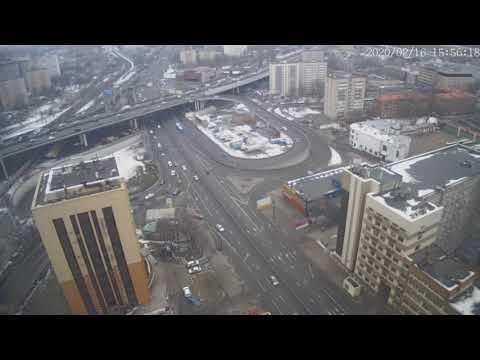 Москва - Нижегородская улица - веб камера 16.02.2020, 12:56