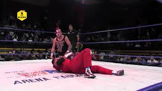 Texano Jr vs Mr. Electro vs Pagano, triangular en Arena Naucalpan