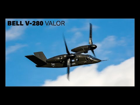 Bell V-280 Valor Arrives at Flight Research Center
