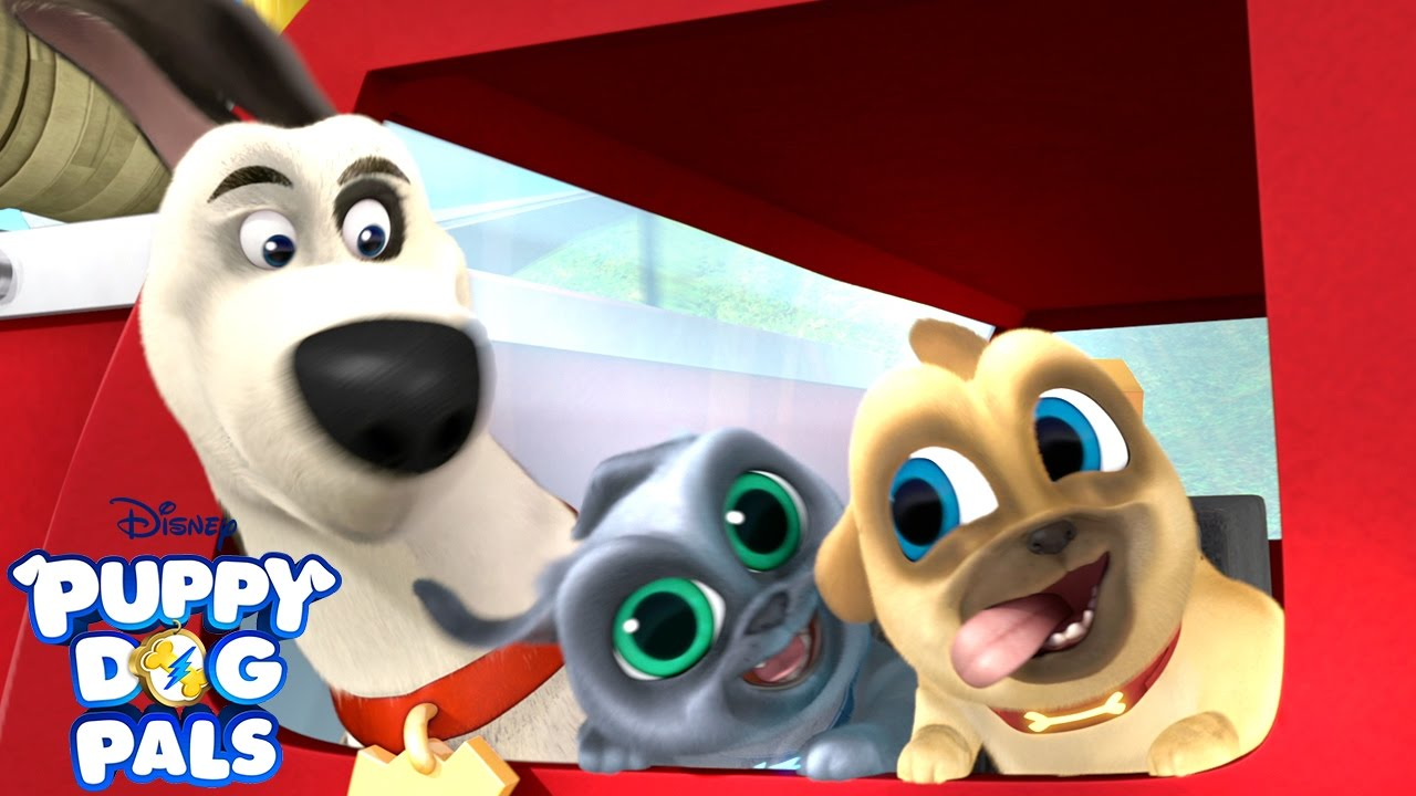 Fire Truck Time Music Video Puppy Dog Pals Disney Junior Youtube