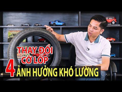 Thay đổi kích cỡ lốp xe - Những ảnh hưởng không phải ai cũng biết | TIPCAR TV