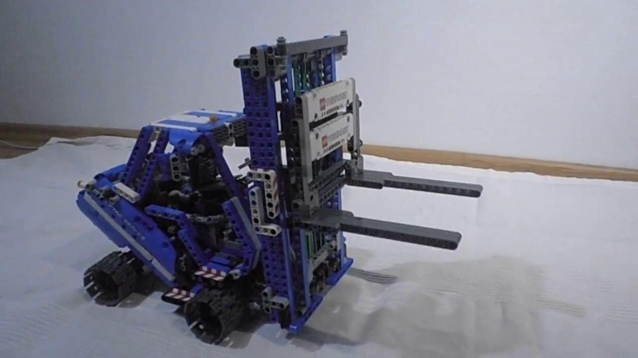 forklift lego technic 42042 alternative model my. Black Bedroom Furniture Sets. Home Design Ideas