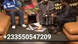 The great chief naa Tia in Ghana