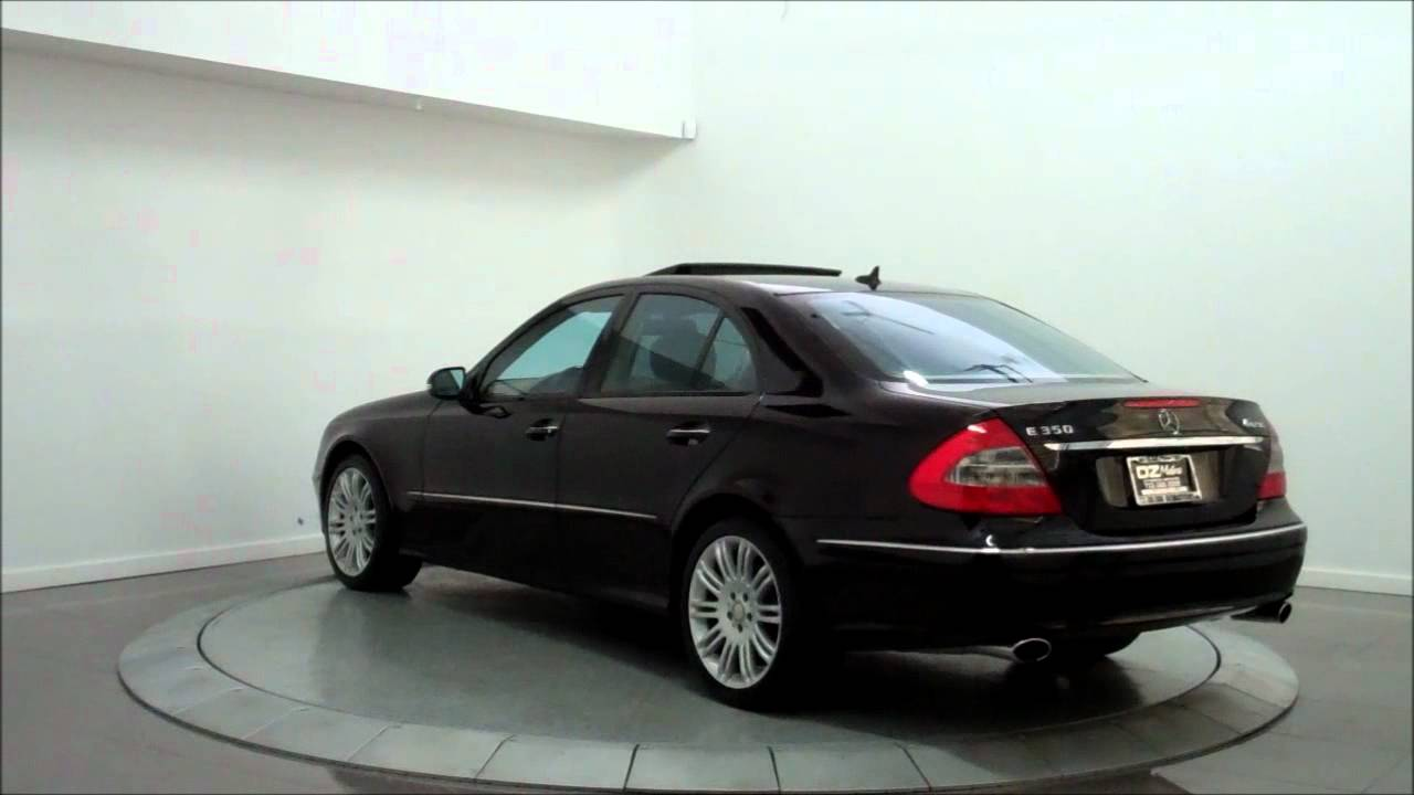 2008 mercedes benz e350 4matic sport youtube. Black Bedroom Furniture Sets. Home Design Ideas