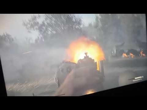 COD WW2 Train Crash HD (Bad Quality!)