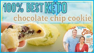 Keto Chocolate Chip Cookie **CONFIRMED BEST RECIPE** Recipe by Keto Connect