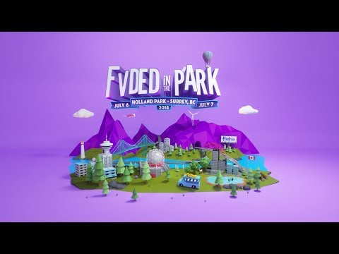 FVDED In The Park 2018 Festival Trailer