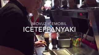 Demo on the MOVUZ 95-Range IceMobil with IceTeppanyaki