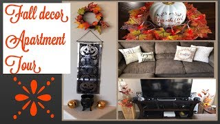 Fall decor | apartment tour