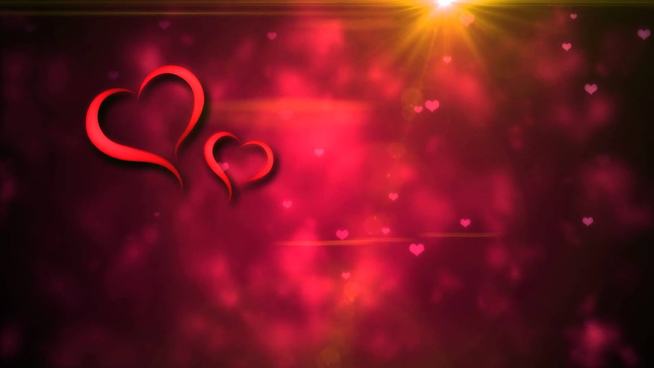 free love motion background loop 1080p hd | wedding loop for title
