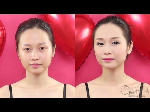 Make up tươi tắn trong ngày Valentine [QUÁCH ÁNH MAKEUP]
