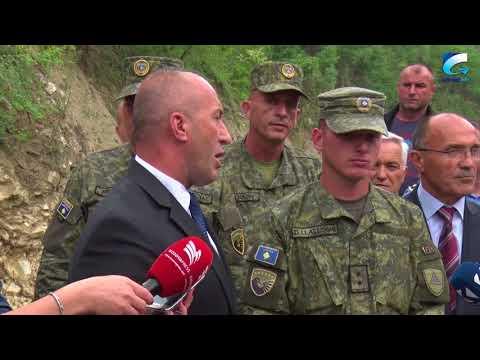 Haradinaj viziton luimin Lepenc, thumbon zhytësin Ismail Kasumi