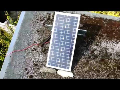 Cheap Ebay 20w 20 Watt Solar Panel REAL OUTPUT UK