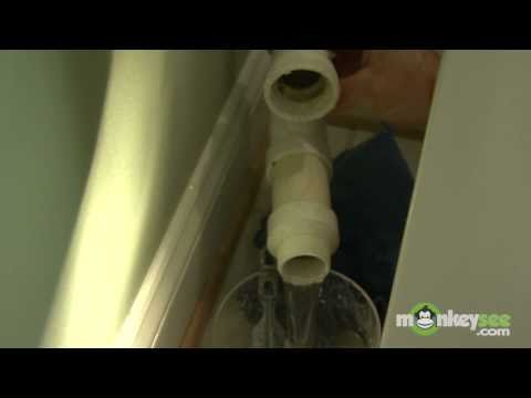 Replacing A Bathroom Pedestal Sink - Part 3 Of  5