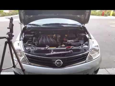 Nissan Versa 1.8 spark plug removal! - YouTube