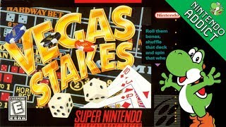 Vegas Stakes (SNES) | Live Playthrough
