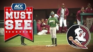 Florida State Ends Inning With Bizarre Play vs Jacksonville | ACC Must See Moment